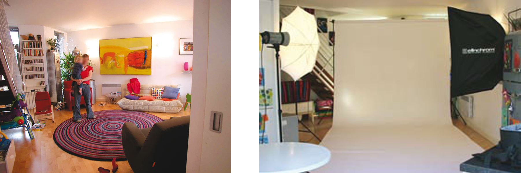 transorming space: photostudio and home