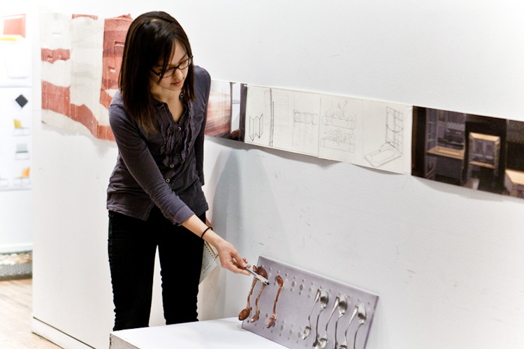 Aiko Nishioka During The Thesis Review