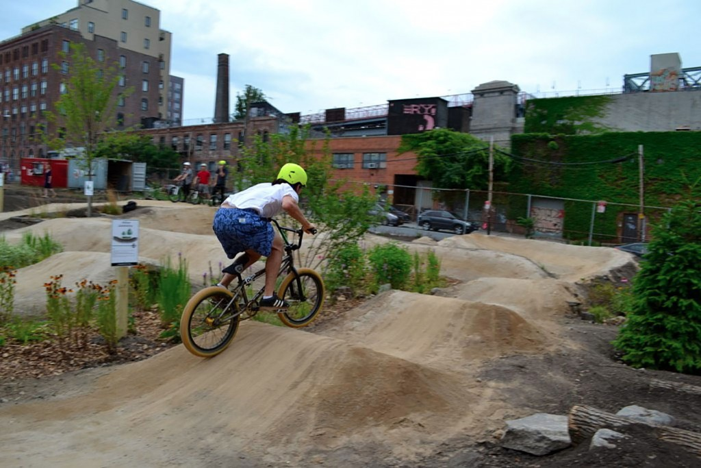 Havemeyer Park's Brooklyn Bike Trail.  Photo: Brooklyn Bike Trail