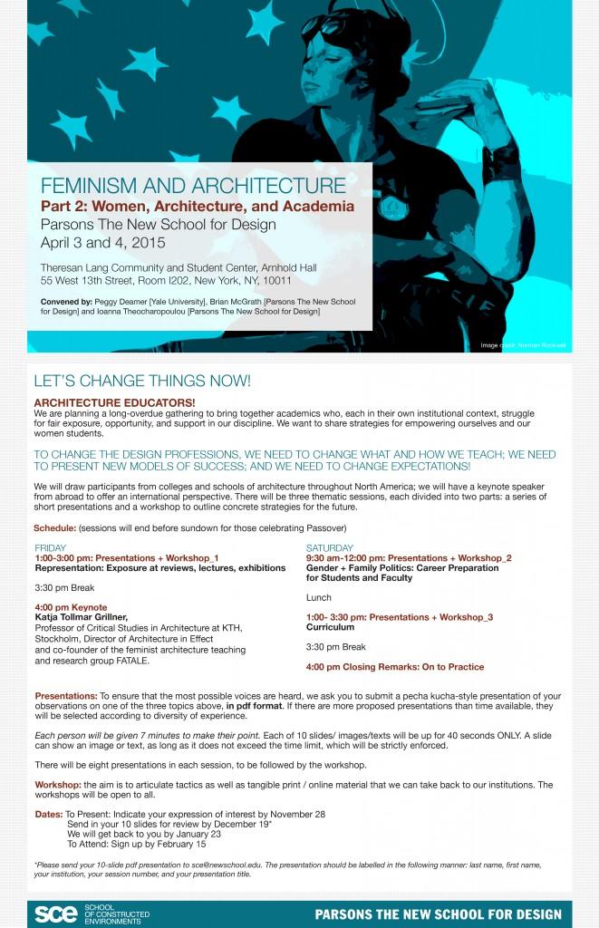 Women, Architecture & Academia 7