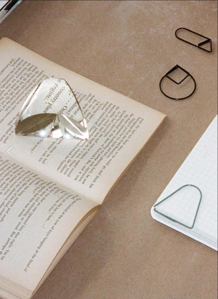 Prism Paperweight and Magnifying Glass, Daniel Martinez. Image: Areaware