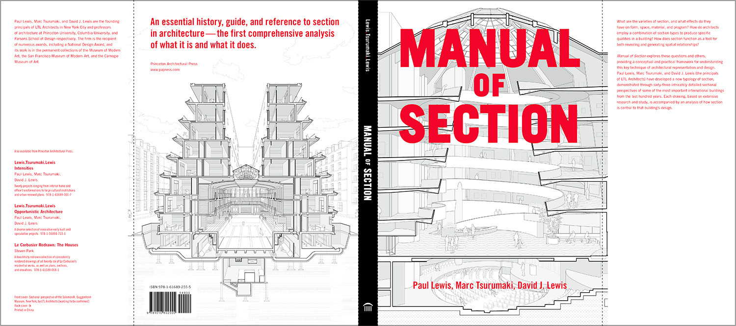 Congratulations David Lewis on the release of Manual of Section