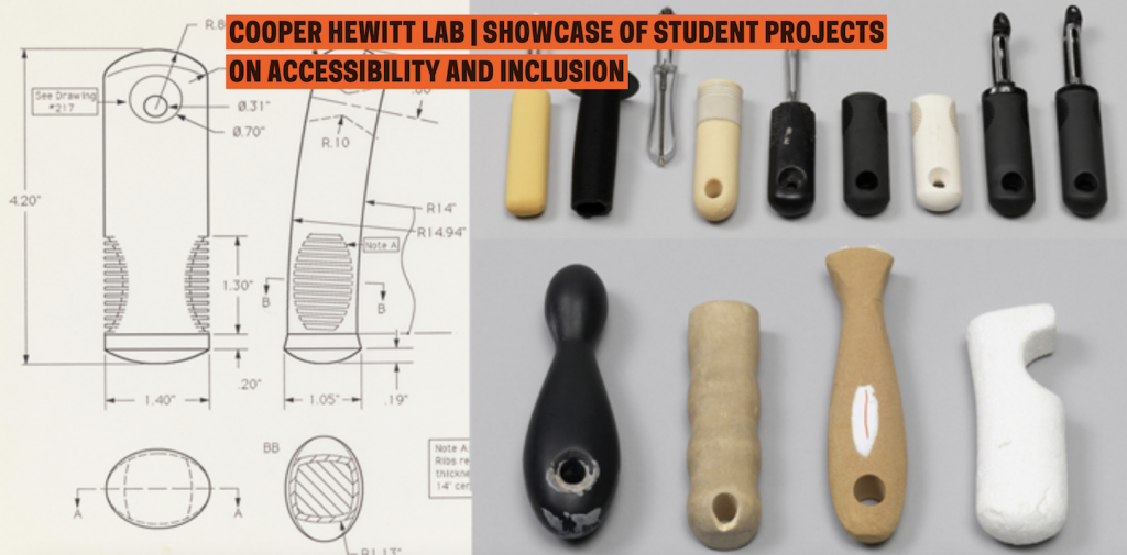 Industrial Design Students Showcasing Their Projects at Copper Hewitt Lab