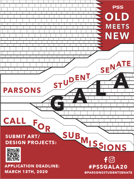 Call for Submissions: Parsons Student Senate Gala