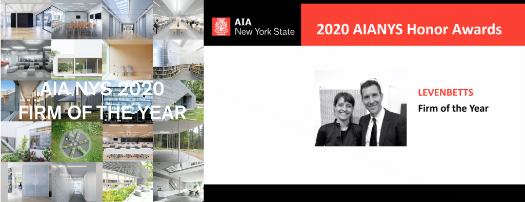 LEVENBETTS Selected as AIA NY Firm of the Year