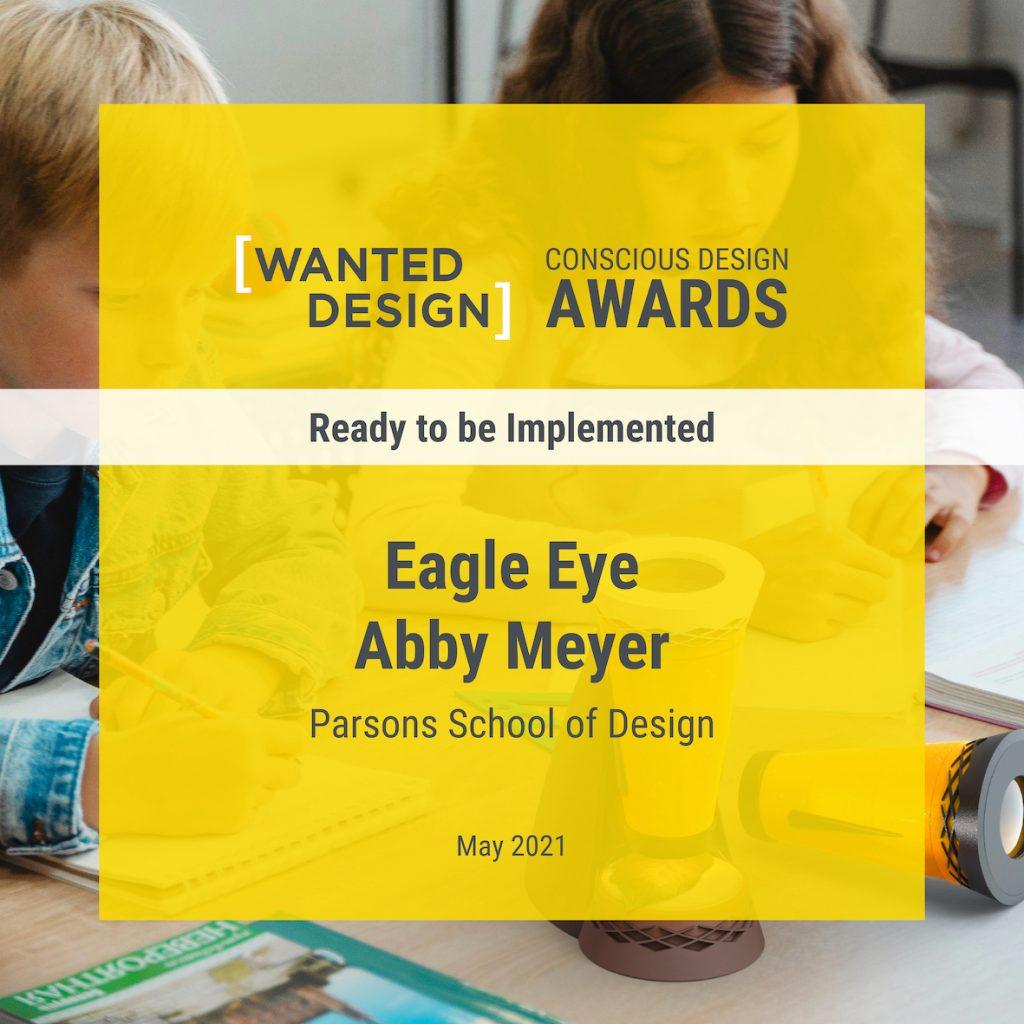 Abby Meyer Receives 2021 Conscious Design Award